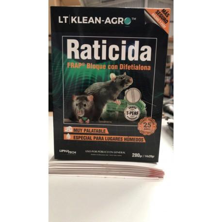 Raticida FRAP Bloque con Difetialona